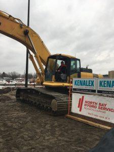 Mayor Al McDonald Breaks Ground at North Bay Microgrid
